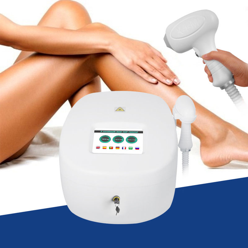 Triple Wavelength 600w Hair Removal Laser Device