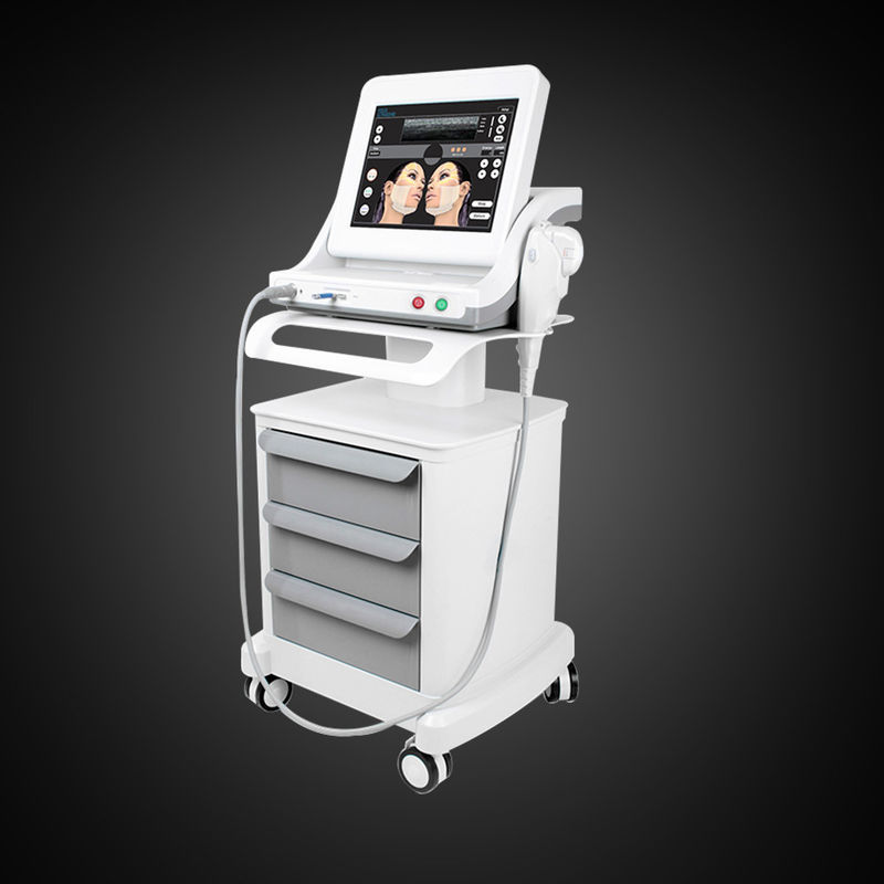 White Non Invasive Face Lift 25mm HIFU Machine